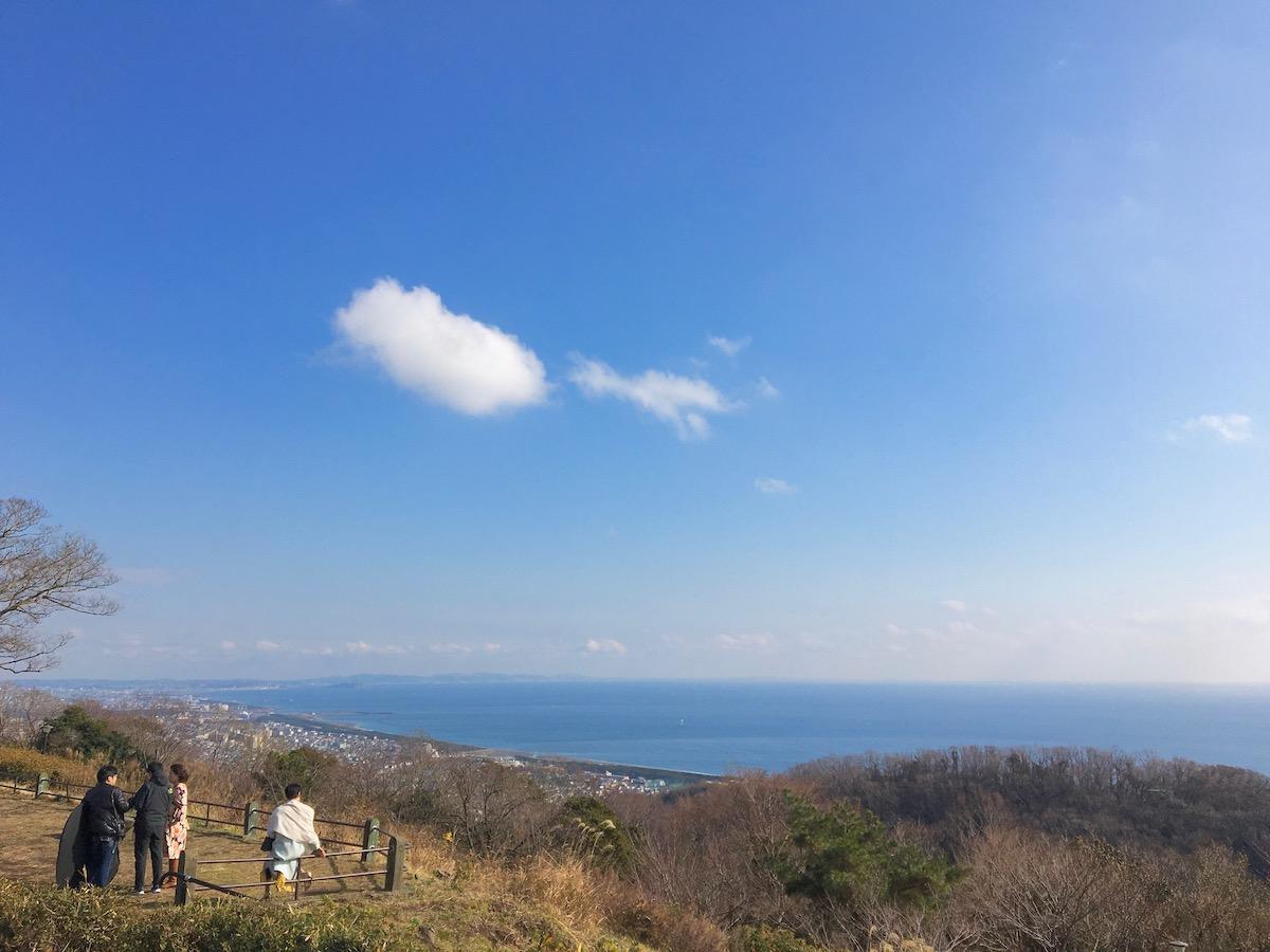 [神奈川県平塚市] 海が見わたせる展望台『湘南平』