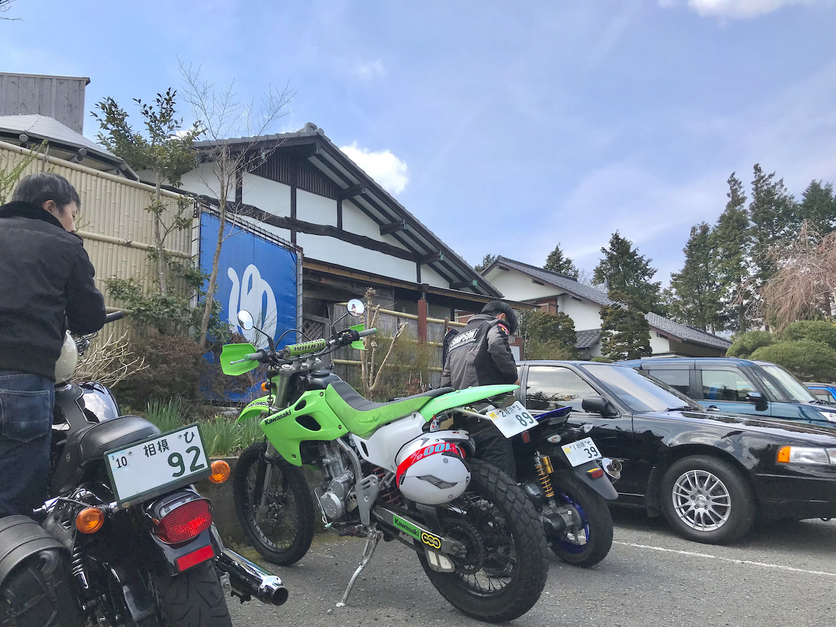 東海道の旅人になる『箱根ツーリング』